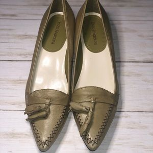 Enzo Angiolini Green Loafer